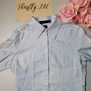 [Express Design Studio] Two Ply Yarn Button Down